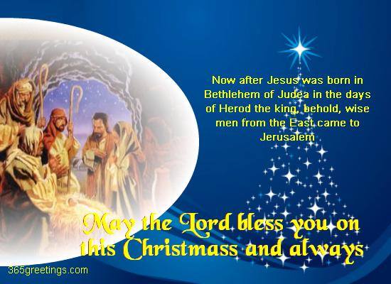 Wise Men From East Came To Jerusalem Religious Christmas Card From 365greetings Com