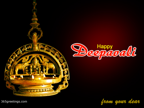 Diwali+lamp+animated