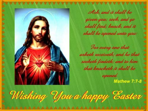 May Jesus Bless You on Easter POST CARD From 365greetings – Easter Messages for Cards