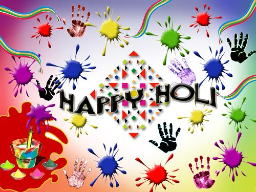 Orkut Holi Greetings Scraps