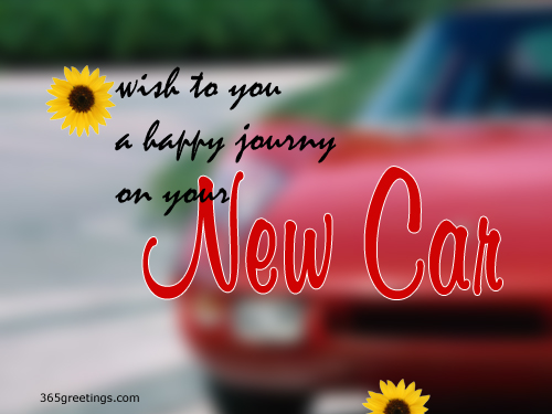 Happy New Car Ecard