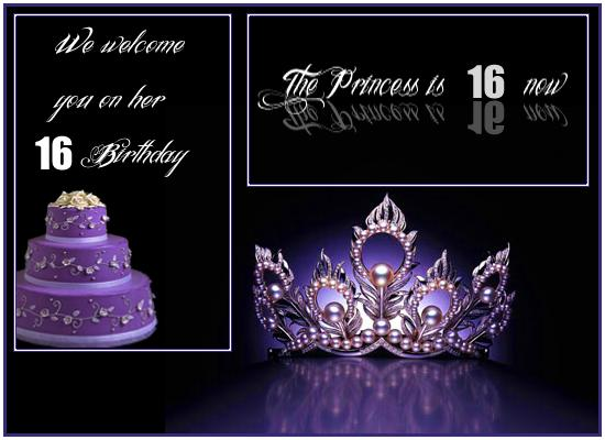 16th Birthday Invitation Card From 365greetings