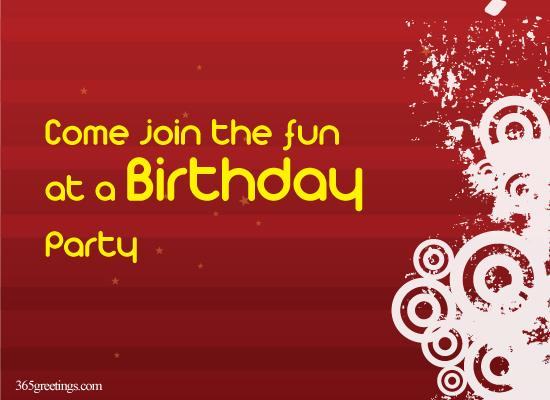 Come Join the Fun at 18th Birthday From 365greetings.com