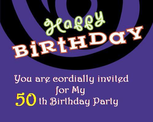 Elegant 50th Birthday Party Gold Rose Black Zazzle ...
