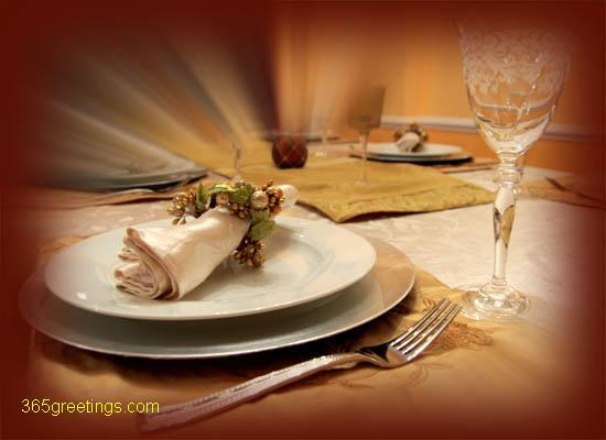 Romantic Dinner Invitation Post Card From 365greetings.com
