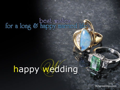 Wedding Day Card For Your Friends And Relatives