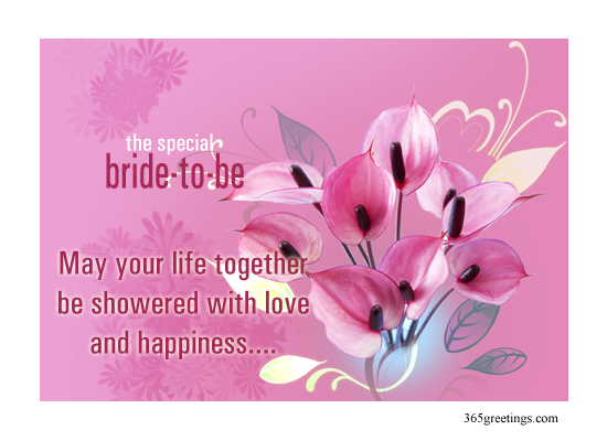 Bridal shower quotes like success for Card for wedding shower