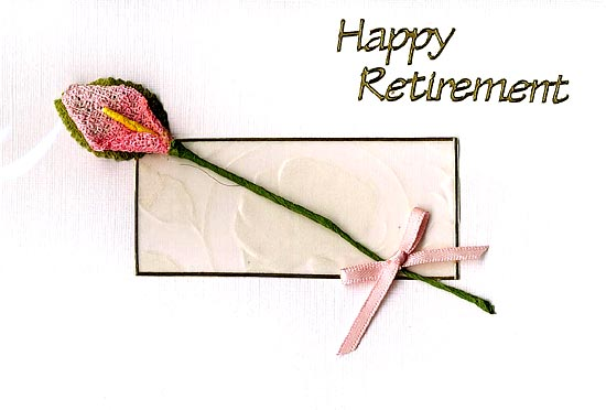 free printable retirement card